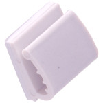 Hardware Essentials Plastic Adhesive Wire Clips