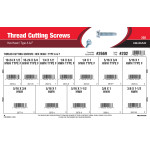 Type A & F Hex-Head Thread Cutting Screws Assortment