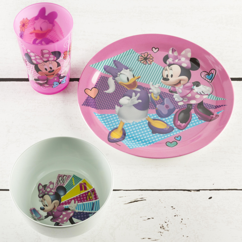 Disney Dinnerware Set, Minnie Mouse, 5-piece set slideshow image 3