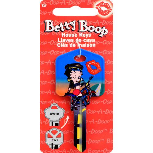 Betty Boop Biker Betty Key Blank Kwikset 66/97 KW1/10