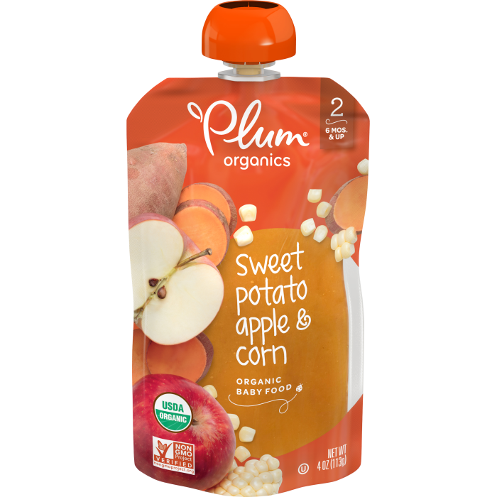 Sweet Potato, Apple & Corn Baby Food