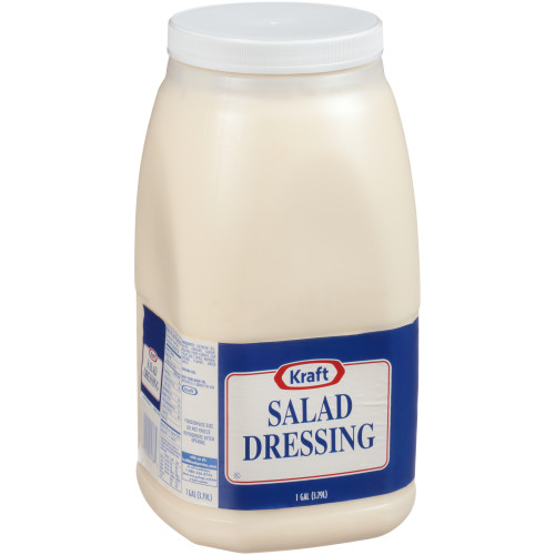 KRAFT Salad Dressing, 1 gal. Jugs (Pack of 4)