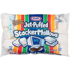 Jet-Puffed StackerMallows Marshmallows, 8 oz Bag