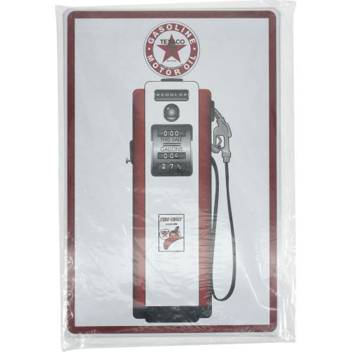 Texaco Gas Pump Novelty Sign (12