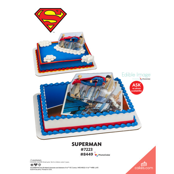 Superman™ Superman DecoSet® The Magic of Cakes® Page