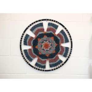 Talara - Art mural fait de coton brodé