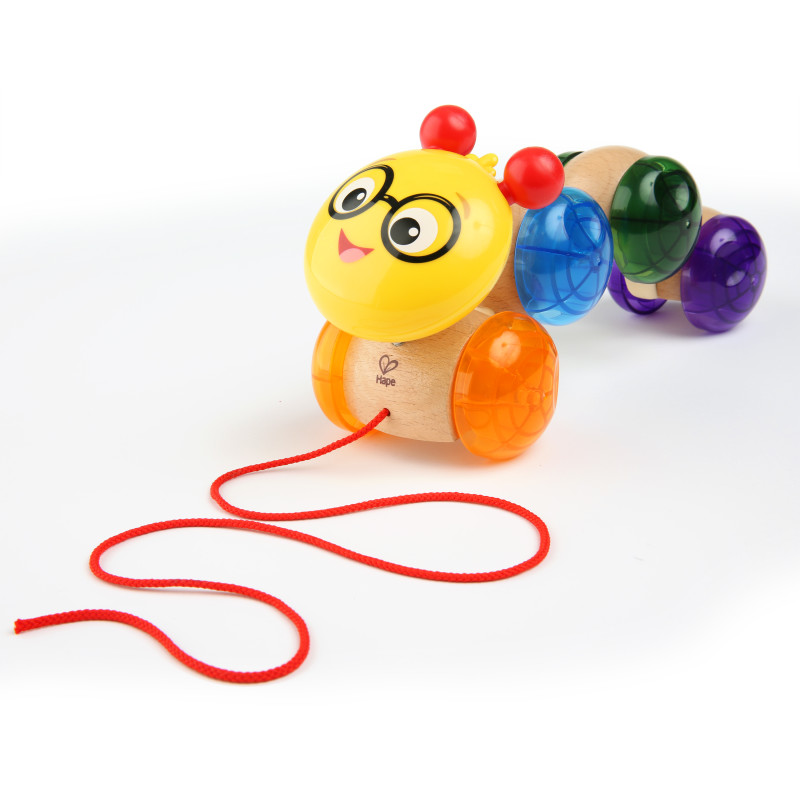 Inch Along Cal™ Wooden Pull Toy