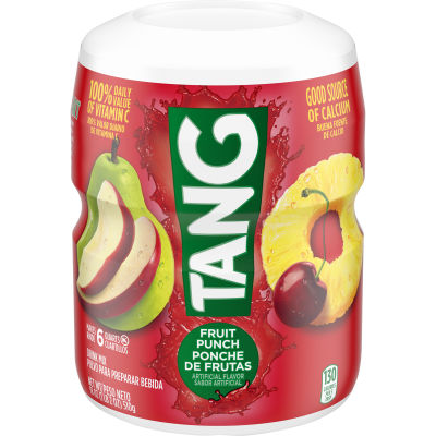 Tang Fruit Punch Powdered Soft Drink, 18 oz Canister