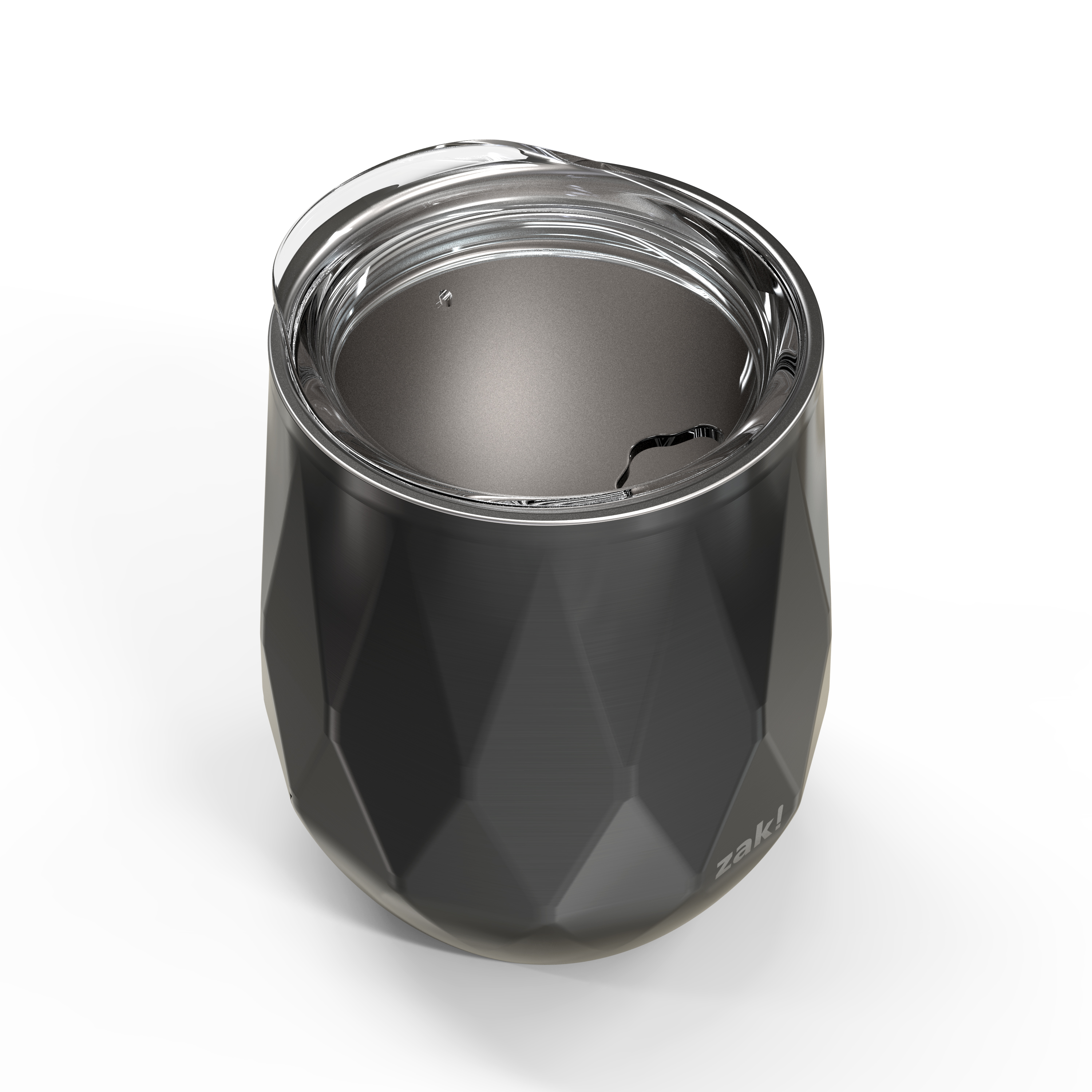 Fractal 11 ounce Vacuum Insulated Stainless Steel Tumbler, Black slideshow image 3