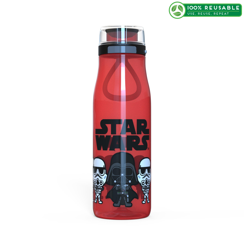 Star Wars 25 ounce Reusable Water Bottle, Darth Vader & Stormtroopers slideshow image 1