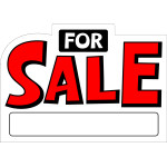 """For Sale Sign Die Cut (10"""" x 14"""")"""