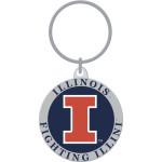 University of Illinois Key Chain