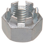 SAE Fine Hex Castellated Nuts