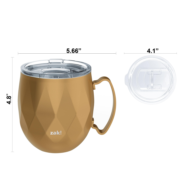 Fractal 19 ounce Mule Mug, Copper slideshow image 7