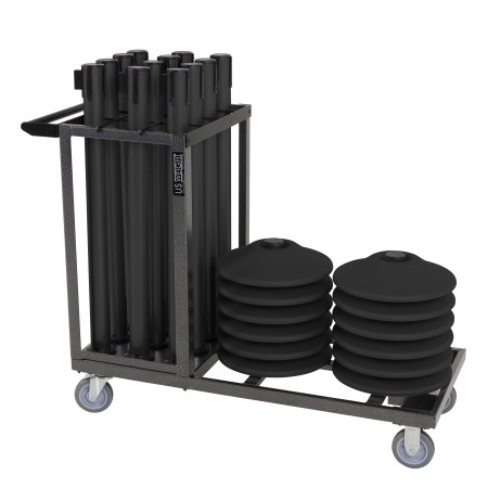 Statesman Cart Bundle - Black Steel 1