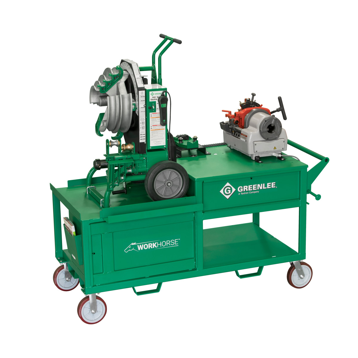 Greenlee WK100 WORKHORSE BENDING THREADING STATION