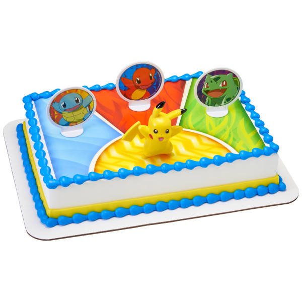 Pokémon™ Light Up Pikachu PhotoCake® Edible Image® DecoSet® Background