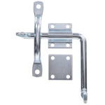 Door & Gate Latch with Bar Strike