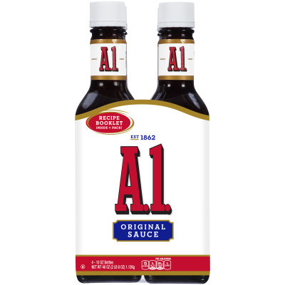 A.1. Original Steak Sauce 4 - 10 oz Bottles