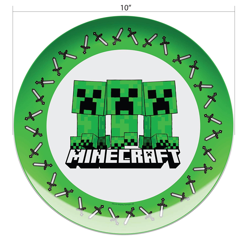 Minecraft Dinnerware Set, Creeper, 2-piece set slideshow image 8