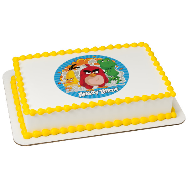 Decopac for Angry birds cake decoration kit
