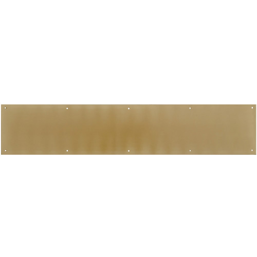 Hardware Essentials Brite Brass Kick Plate 6