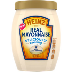 Heinz Real Mayonnaise, 15 fl oz Jar image