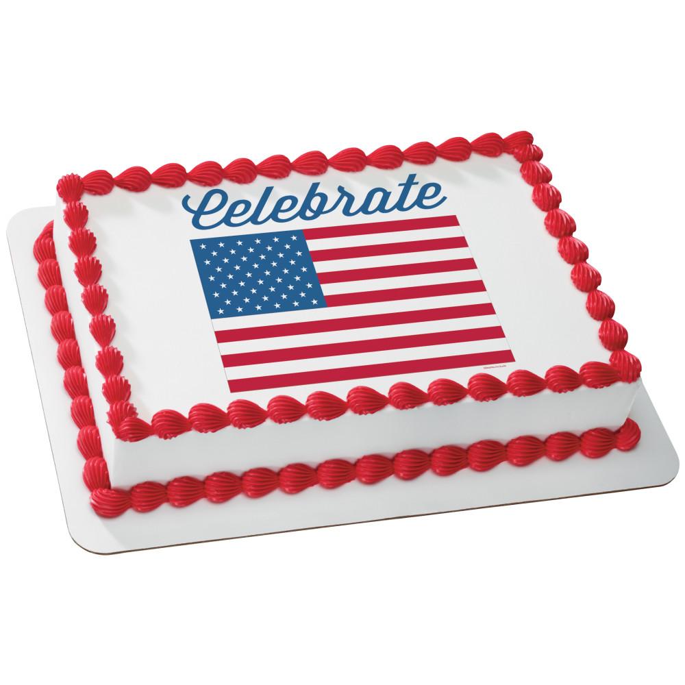 Celebrate America Flag