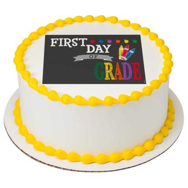 First Day PhotoCake® Edible Image®