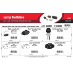 Lamp Switches Assortment (Desk Lamp, Feed Through, Rotary, & Lamp Cords)