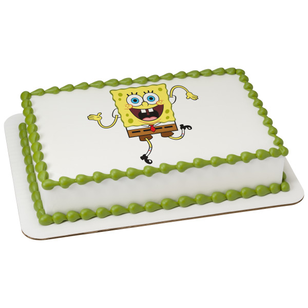 SpongeBob SquarePants™ Wacky PhotoCake® Edible Image®
