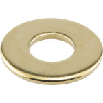 "Brass-Plated Washer (1/8 IPS x 3/4"")"