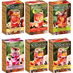 Mixed Case of Bigelow Botanicals - Case of 6 Boxes - Total of 108 teabags