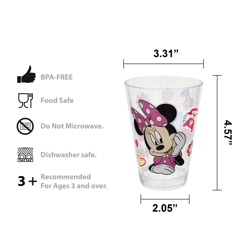 Disney Plate, Bowl and Tumbler Set, Minnie Mouse, 3-piece set slideshow image 12