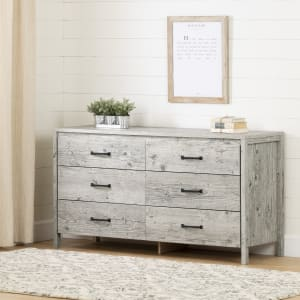 Gravity - 6-Drawer Double Dresser