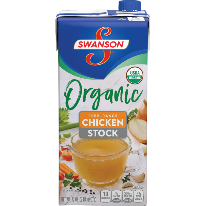 Organic Free-Range Chicken Stock