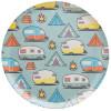 Adventurer Melamine Plate, Tents & Trailers, 6-piece set slideshow image 4