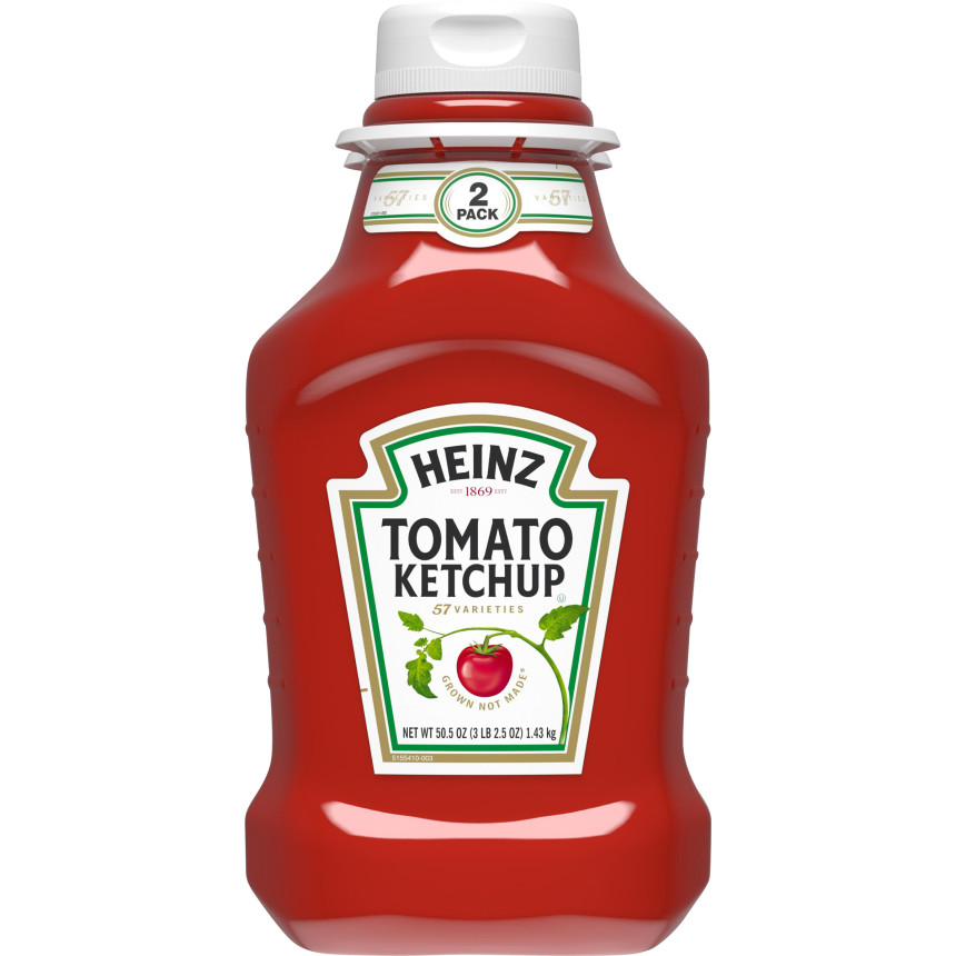 Heinz Tomato Ketchup, 2 - 50.5 oz Multipack