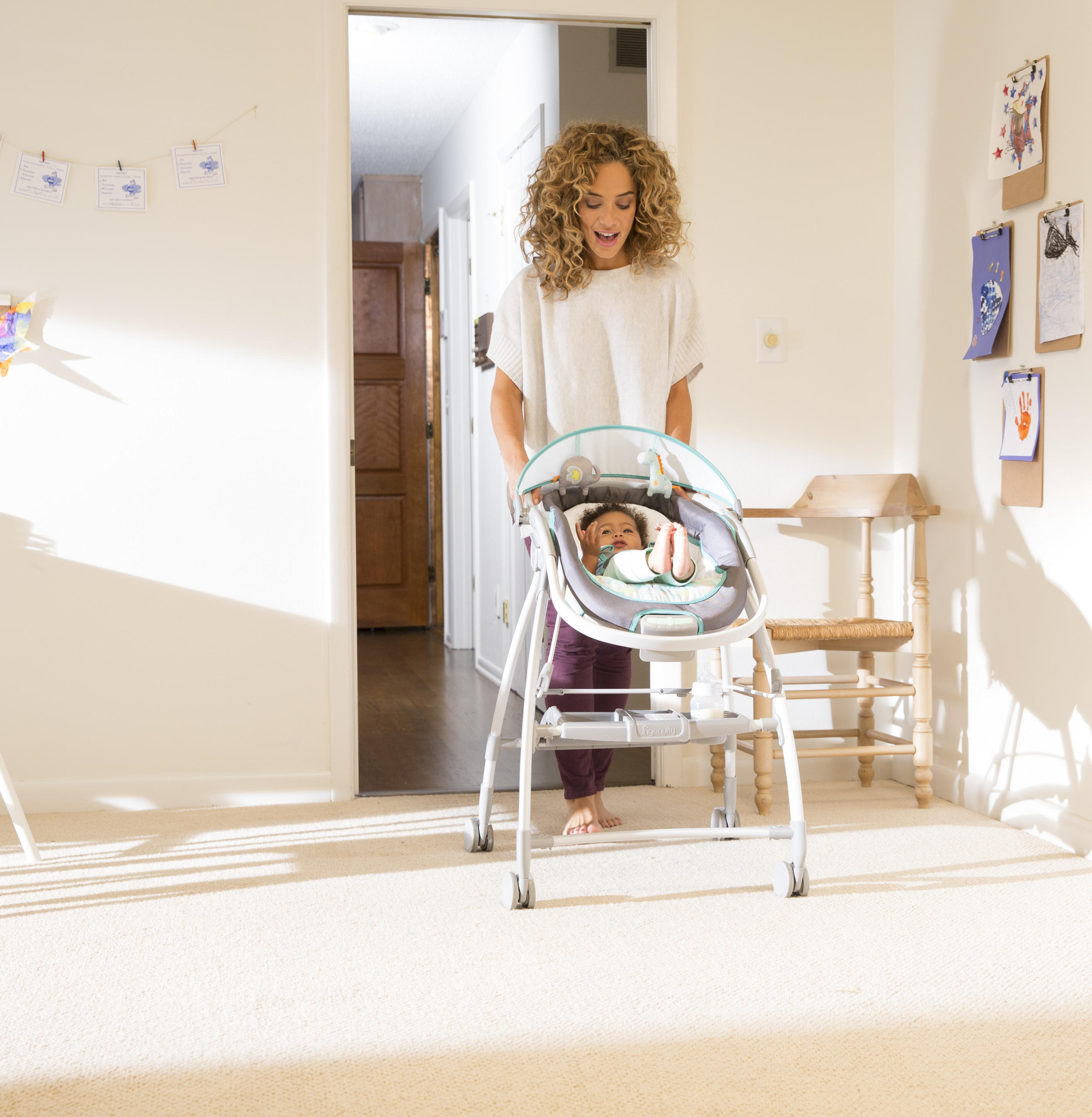 InReach Mobile Lounger and Bouncer™ - Quincy™