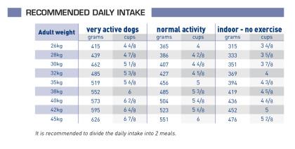 Senior consult mature large dog feeding guide
