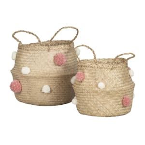 Storit - Woven Belly Baskets - Set of 2