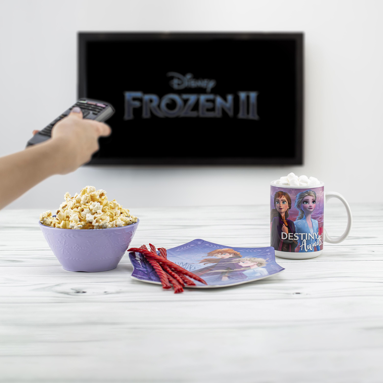 Disney Frozen 2 Movie Kid's Dinnerware Set, Anna and Elsa, 2-piece set slideshow image 6