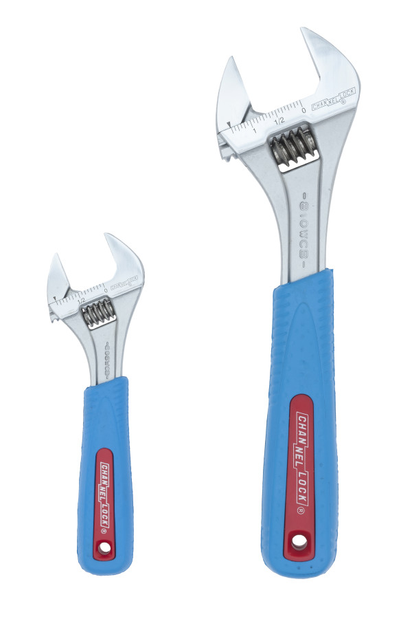 WS-2CB 2pc CODE BLUE® Adjustable Wrench Set
