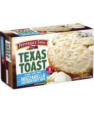 (9.5 ounces) Pepperidge Farm® Mozzarella Monterey Jack Texas Toast, baked according to package directions