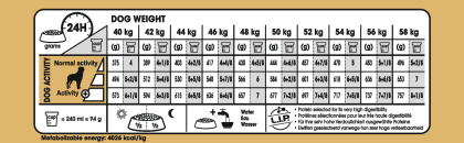Rottweiler Adult feeding guide