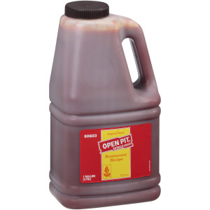 OPEN PIT Original BBQ Sauce, 1 gal. Jugs (Pack of 4) image