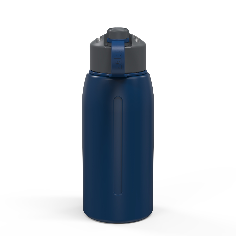 Genesis 32 ounce Vacuum Insulated Stainless Steel Tumbler, Indigo slideshow image 9
