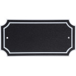 Distinctions Scalloped Address Plaque