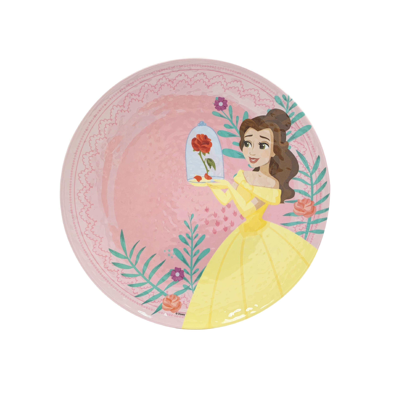 Disney Kids 9-inch Plate and 6-inch Bowl Set, Princess Belle, 2-piece set slideshow image 7