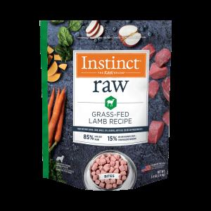 Raw Frozen Lamb Bites Dog Food